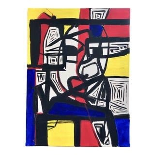JJ Justice Contemporary Abstract Painting For Sale