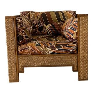 1980s Vintage Danville Woven Chair For Sale