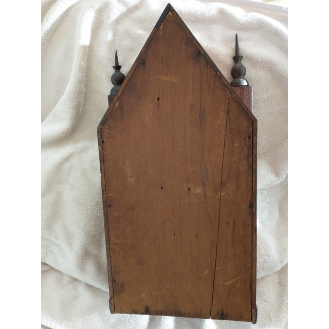 Mid 19th Century Steeple Clock Case For Sale - Image 4 of 7