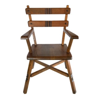 Antique Wooden Shaker Child's Chair For Sale