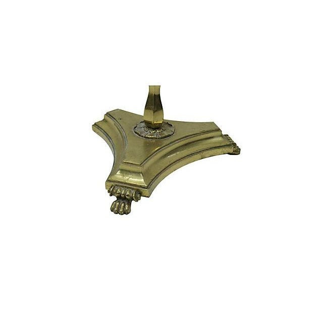 Vintage Brass Coat Rack - Image 3 of 3