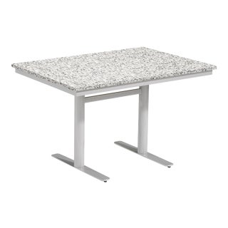 Rectangular Outdoor Bistro Table, Ash For Sale