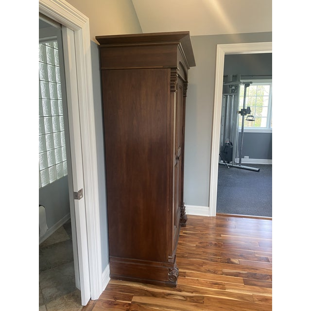 Thomasville Solid Wood Armoire in Excellent Condition