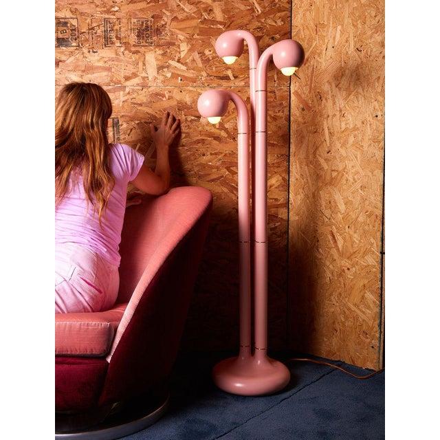 Entler Entler Studio Pink Ceramic Floor Lamp For Sale - Image 4 of 6