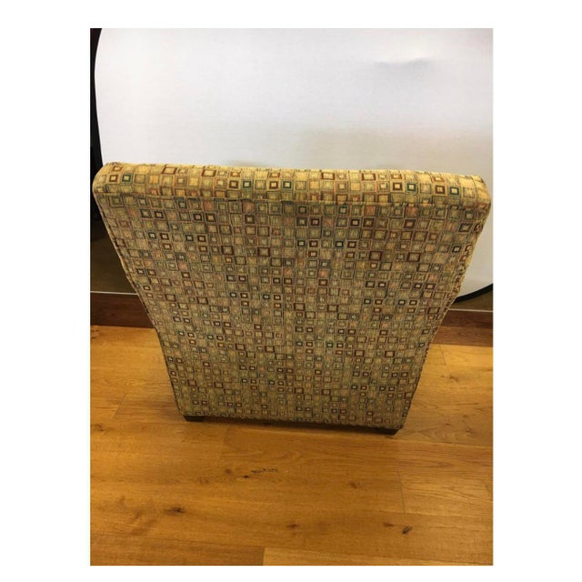 1970s Maurice Villency Mid-Century Modern Upholstered Arm Club Chair For Sale - Image 5 of 10