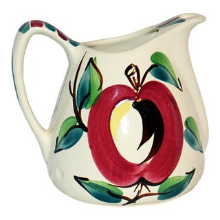 Purinton Pitcher, 'Open Apple' Midcentury Design