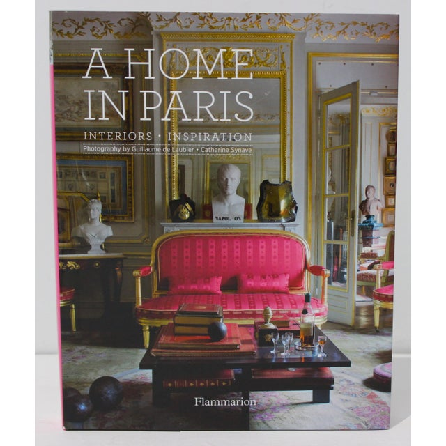 """1st Ed 2014 """"A Home in Paris"""" Coffee Table Book Flammarion For Sale - Image 13 of 13"""