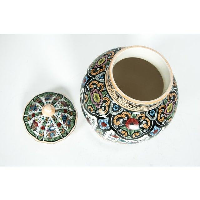 White Vintage Dutch Porcelain Covered Urn For Sale - Image 8 of 13