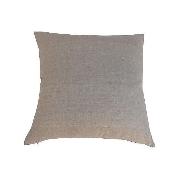 Yves Saint Laurent YSL 1970s Silk Scarf Pillow - Image 4 of 5