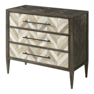 Modern Herringbone Dresser For Sale
