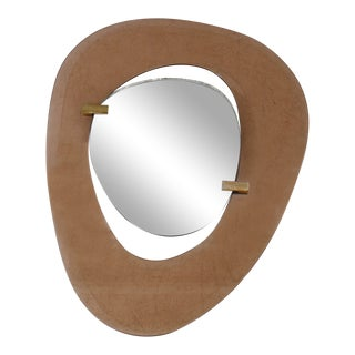 Max In Mid Century Mirror for Fontana Arte Italy, 1950s For Sale