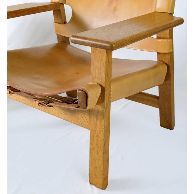 "Pair of Børge Mogensen ""Spanish"" Chairs - Image 8 of 10"