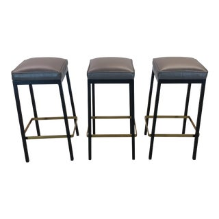 Early Bar Stools by Florence Knoll For Sale