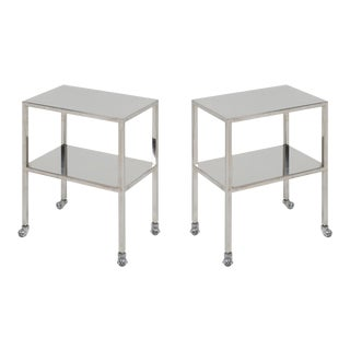 Industrial Chrome Trolley by Philippe Starck - 1990s For Sale