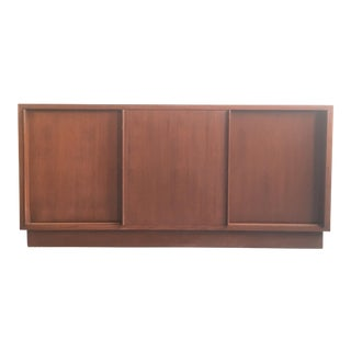 Vintage Danish Modern Teak Sideboard / Credenza For Sale