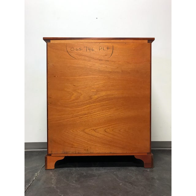 Craftique Solid Mahogany 2 Over 4 Drawer Chest - Image 8 of 11