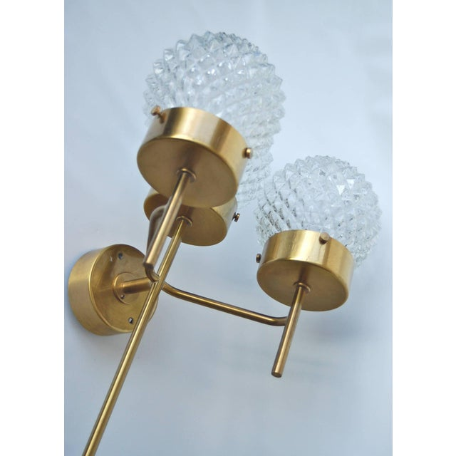 1960s Large and Rare Pair of Wall Lights by Hans-Agne Jakobsson For Sale - Image 5 of 11