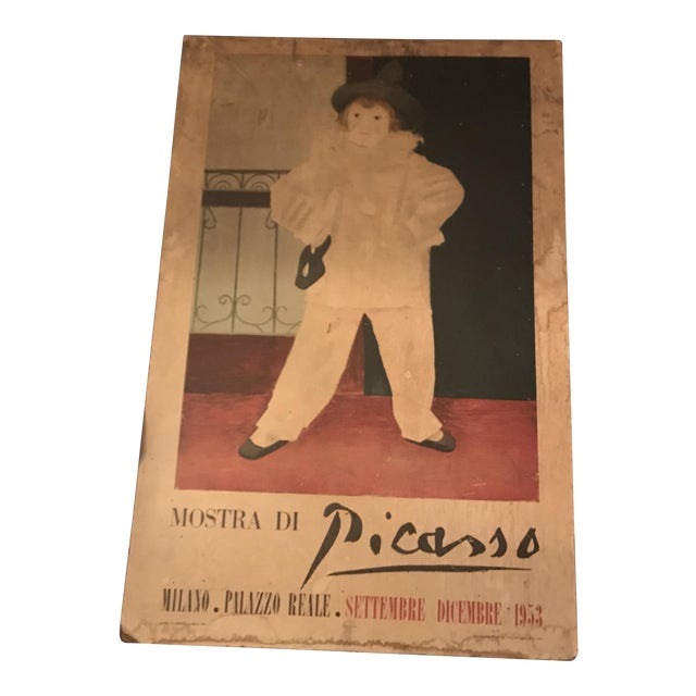 "5 Feet Tall ""Mostra DI Picasso"" Exposition at Palazzo Reale Original Exposition Poster For Sale"