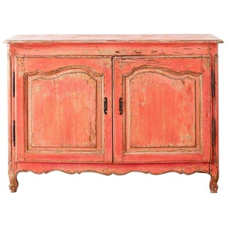 18th Century Louis XV Painted Provincial Buffet or Sideboard For Sale