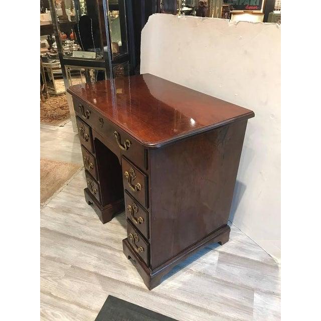 George III Mahogany Kneehole Desk - Image 6 of 6