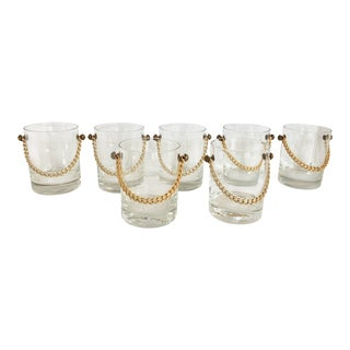 Gucci Style Whiskey Glasses/7 For Sale