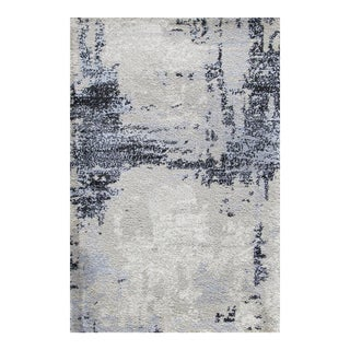 "Abstract Art Brown Rug - 5'3"" x 7'7"""