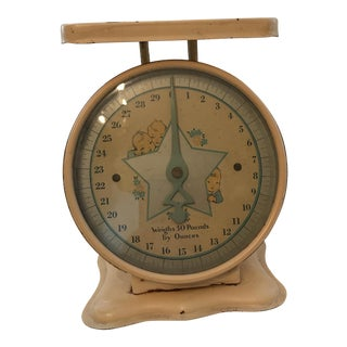 Vintage 50's Baby Scale