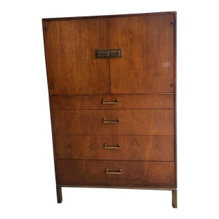 1950s Vintage Founders Gentlemen's Chest of Drawers For Sale