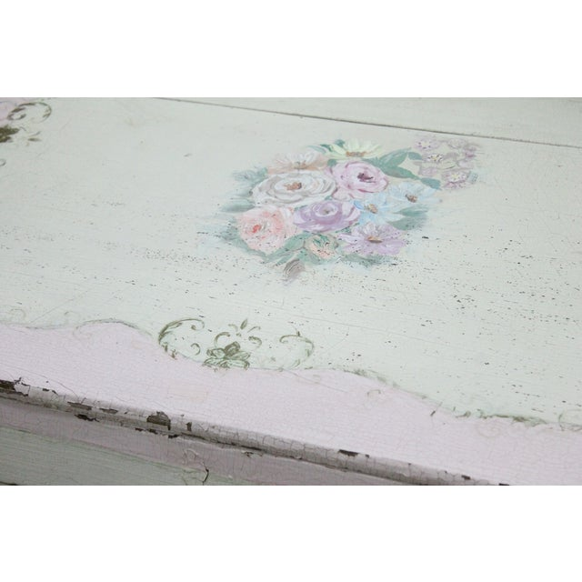 Pink Shabby Chic Desk - Image 3 of 4