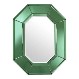 Green Octagonal Glass Mirror | Eichholtz Le Sereno