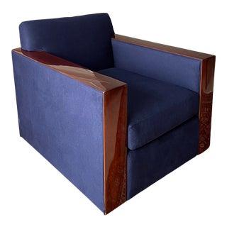 Ralph Lauren Home Modern Metropolis Club Chair For Sale