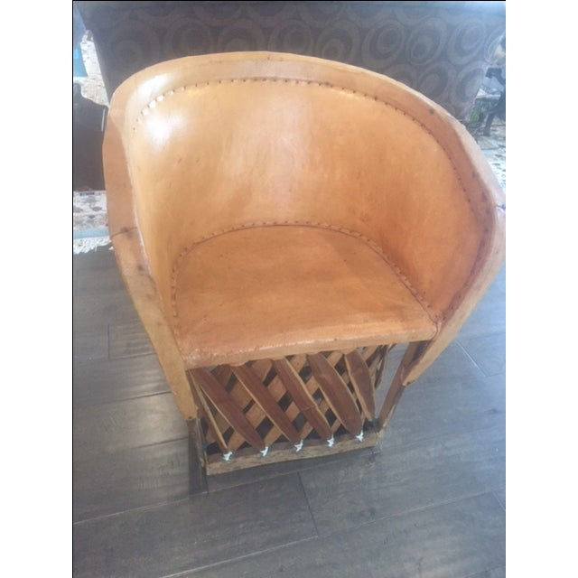 Mexican Equipale Chair For Sale - Image 11 of 11