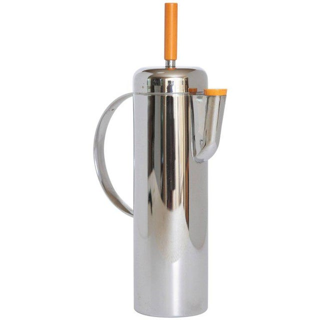 Machine Age Art Deco Empire Cocktail Shaker, William Archibald Welden for Revere For Sale - Image 11 of 11