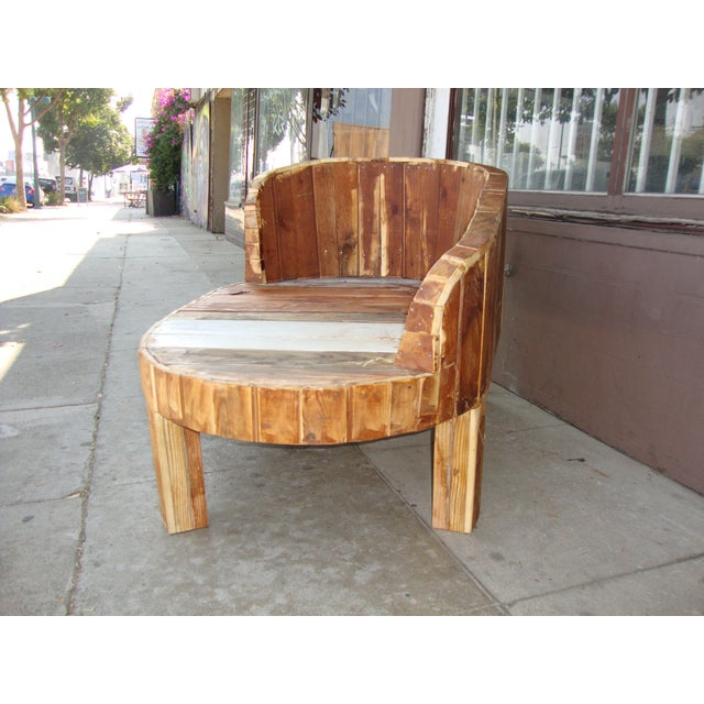 Hand-Made Lounge Chair For Sale - Image 11 of 13