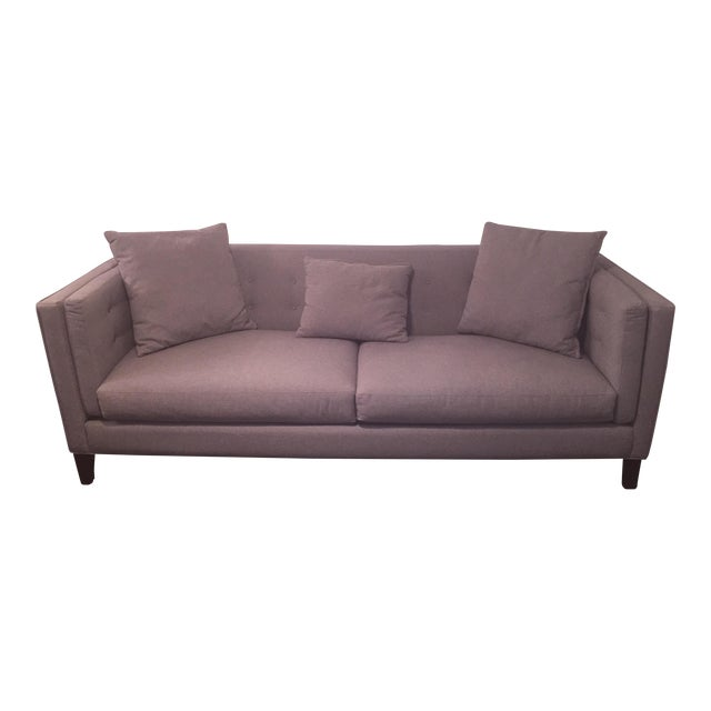 Braylei Gray Track Arm Sofa - Image 1 of 7