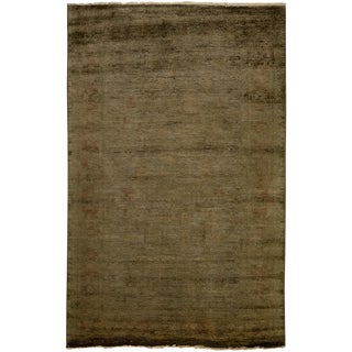 "Moroccan Vibrance Hand Knotted Area Rug - 5'2"" X 8'0"""
