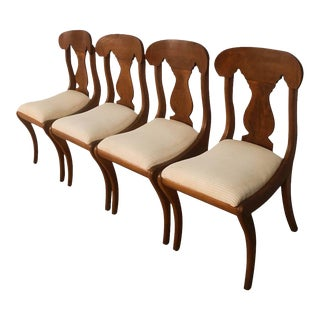 Empire Style Biggs Dining Chairs For Sale