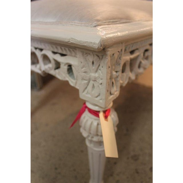 Vintage Louis XVI Style Bench - Image 3 of 4