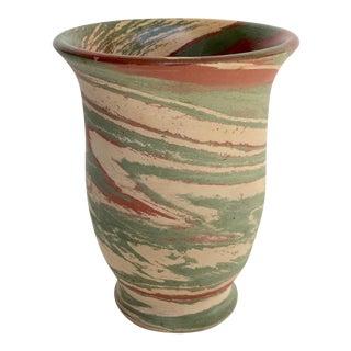 Vintage Mission Swirl Pottery Vase