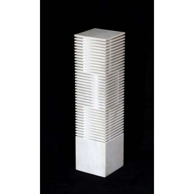 "Domenico Casasanta ""XXXV"" Marble Sculpture - Image 2 of 6"