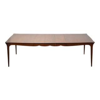 Walnut Extendable Dining Table For Sale