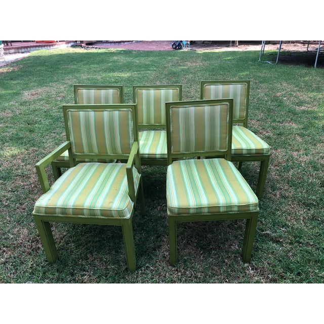 1970s Vintage Louis G Sherman Chairs - Set of 5 For Sale - Image 11 of 11