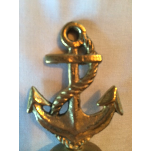 Nautical Brass Anchor Bell - Image 5 of 5