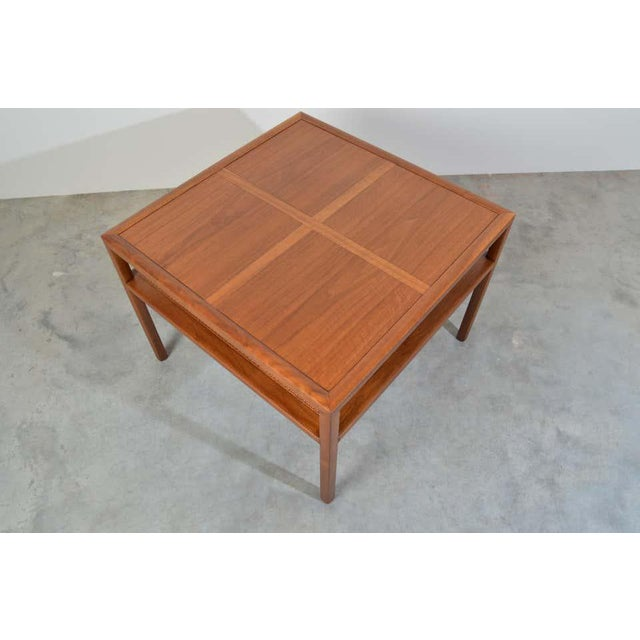Mid-Century Modern Michael Taylor for Baker Furniture Square Cocktail Table For Sale - Image 3 of 7