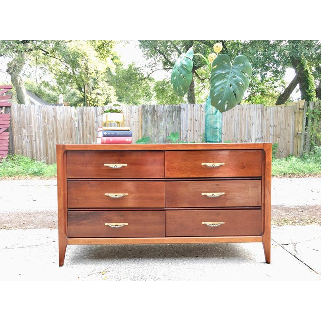Basic-Witz Mid Century Modern Credenza Dresser For Sale In Tampa - Image 6 of 10