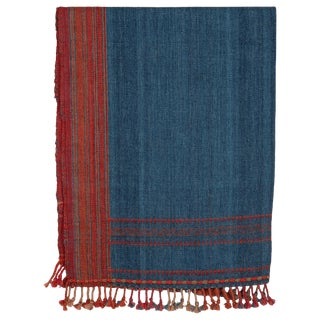 Kutch Handwoven Wool Throw For Sale