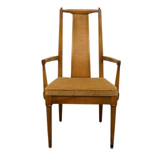 Late 20th Century Vintage American of Martinsville Asian Inspired Dining Chair