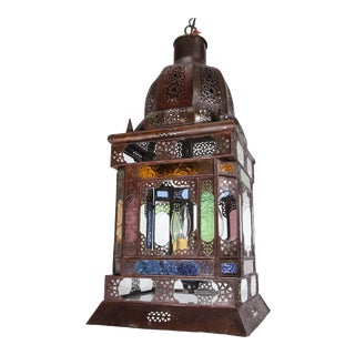 Moroccan Traditional Moorish Light Pendant For Sale