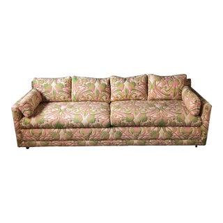 1970s Vintage Floral Sofa