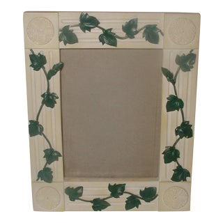 20th Century Resin Vine Motif Frame For Sale